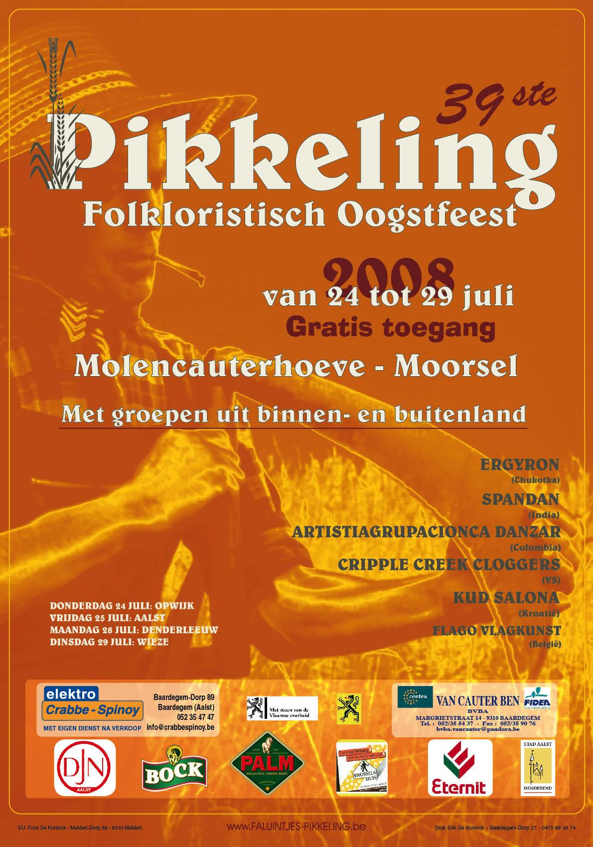 2008_Affiche Pikkeling 2008